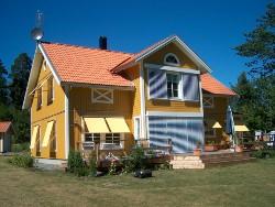 fasadpersienner villa Stockholm